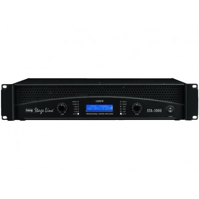 IMG-Stage Line | Monacor STA-1000 Professional stereo PA versterker DMR Electron
