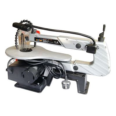 120W Electric Hacksaw Scroll Saw Table Jigsaw with LED light and Dust Blower