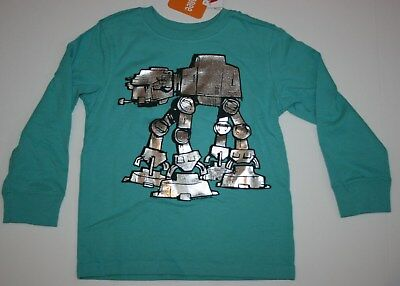 NEW Gymboree Boys Star Wars Graphic Tee Top NWT 18-24m 2T 3T 4T 5T AT at Teal