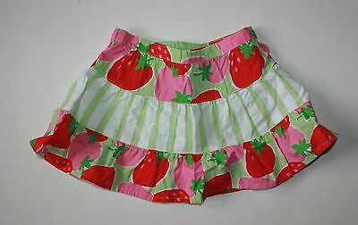 New Gymboree Strawberry Striped Skirt 18-24 Months NWT Sweetheart Girls