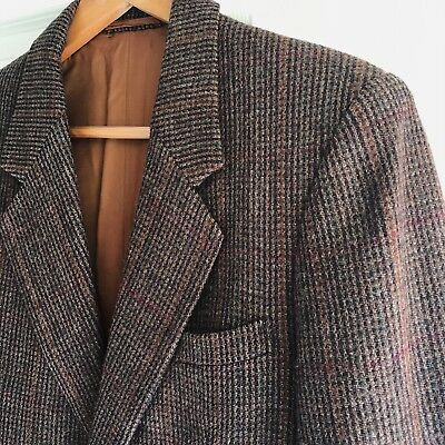 Men's Wool Multi-Coloured Thick suit Jacket coat **GREAT Condition!!**