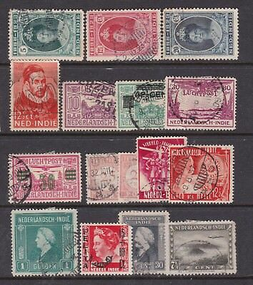 NETHERLANDS  INDIES  ^^^^  1892-48  used and  mint  $$@ cam2380nli
