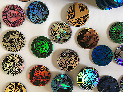 POKEMON Coins - Official TCG Flipping Coins, game tokens (Select your coins)