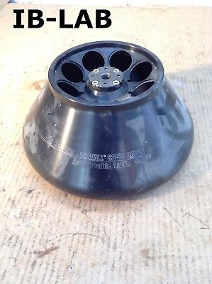 Sorvall SS-34 Fixed 34° Angle Centrifuge Rotor 8 X 50mL 20,500RPM