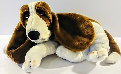 Applause Hush Puppies Bassett Hound Puppy Dog Stuffed Animal Plush