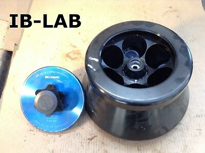 Beckman Coulter JA-14 Fixed 25° Angle Centrifuge Rotor 16000RPM 6 X 250mL