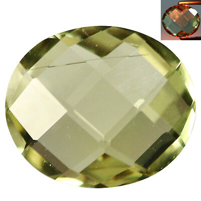 1.96Ct Shimmering Oval Cut 9 x 8 mm AAA Color Change Turkish Diaspore