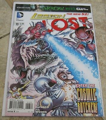 Legion Lost #13 F/VF Pete Woods DC Comics The New 52 Legion of Super-Heroes