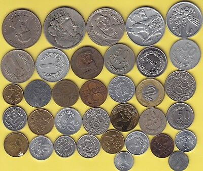 Poland  nice lot of 35 coins ..................24