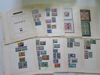 NIGERIA 1960-70 GOOD COLLECTION** , SEEMS COMPLETE !! >> SEE PICTURES °/ca782