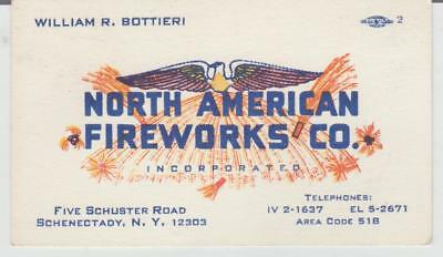North American Fireworks Co. Business Card