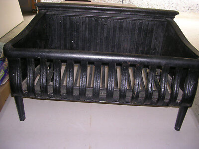 Vintage Cast Iron Fireplace Grate