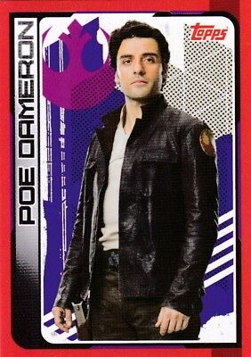 Star Wars - Card No.64-  Journey to Star Wars The Last Jedi - Poe Dameron
