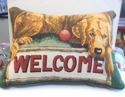 Decorative Dog Pillow-New W/tags