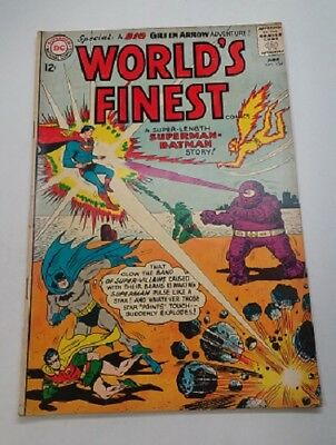 World's Finest #134! DC Comics - 1963! VG Condition, 4.0!
