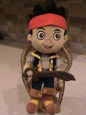 "Disney Store 13"" Jake and the Neverland Pirates Plush Toy"