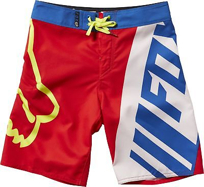 Fox Racing Motion Creo Youth Boardshorts Red