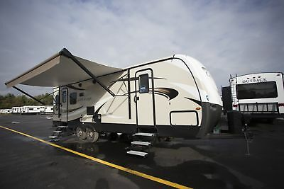Rv Travel Trailer 2018 Cougar Half Ton 27Sab Rear Living Camper Trailer Rv
