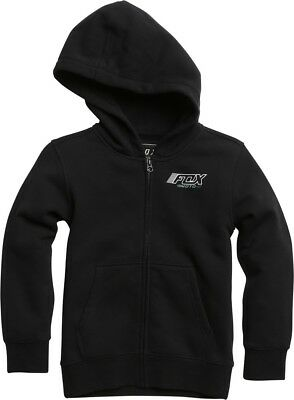 Fox Racing Edify Youth Boys Zip Up Hoody Black