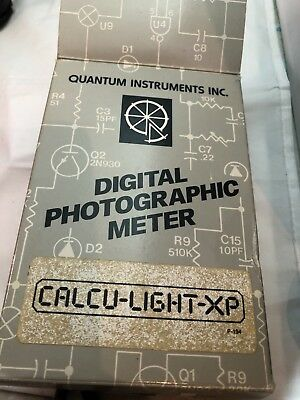 CALCU-Lite-Xp QUANTUM DIGITAL LIGHT METER w/ case