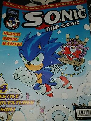 Sonic The hedgehog Comic No. 196 (December 2000)
