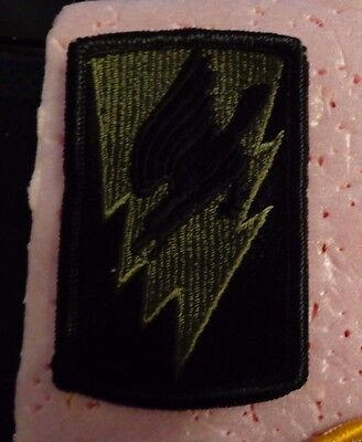 Army Patch, 66Th Aviation Regiment,1970's 1St Style O.d. Green, Plastic Back