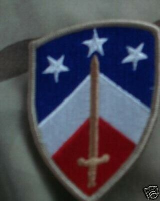 New Army Patch, 230Th Sustainment Bde ,color