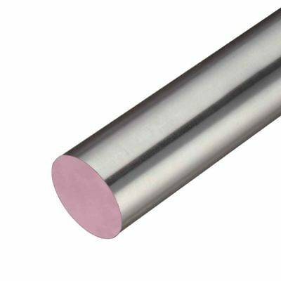 303 Stainless Steel Round Rod, Diameter: 1.250 (1-1/4 inch), Length: 12 inches
