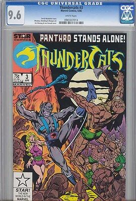 Thundercats #3  CGC 9.6  Star1986  Marvel Comic