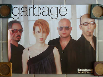 Garbage Tower Records Music Poster Shirley Manson