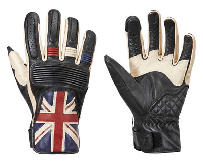 Triumph Motorcycles Mens Red/White/Blue Union Jack Gloves MGVS17303