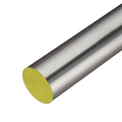 316 Stainless Steel Round Rod, Diameter: 0.375 (3/8 inch), Length: 36 inches