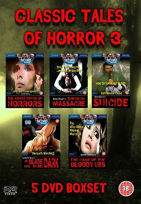5 DVD Boxset Collection of Cult Classic Tales of Horror films 3