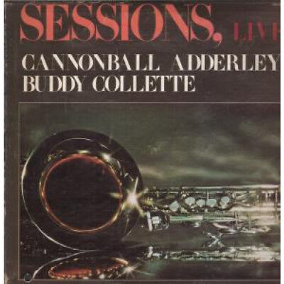 CANNONBALL ADDERLEY BUDDY COLLETTE Sessions Live LP VINYL US Calliope 9 Track