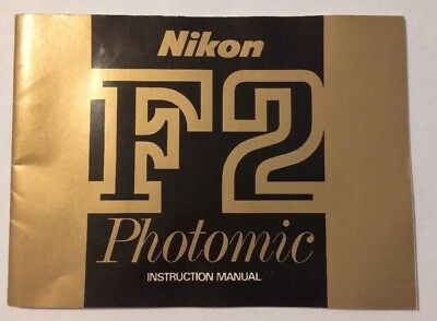 Nikon F2 Photomic Instruction Manual