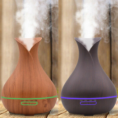 Air Aroma Humidifier Ultrasonic Aromatherapy Essential Oil Diffuser 300/400ml