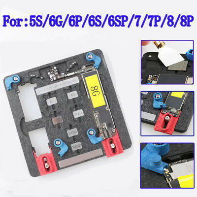 CIRCUIT BOARD PCB Holder Chip Repair Kits for iPhone Logic Board A8 A9 A10  Chip#