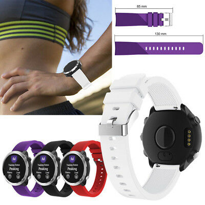 Wrist Watch Band Strap For Garmin Forerunner 645 Vivoactive 3 Vivomove Buckle