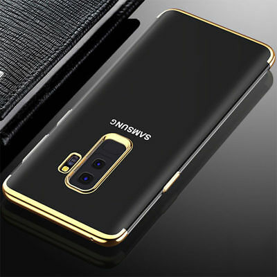 Luxury Ultra-thin Slim Transparent Soft TPU Case Cover For Samsung Galaxy S8 S9P