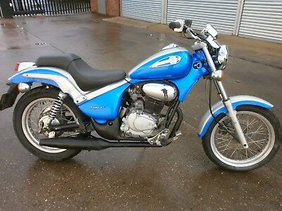 2002 GILERA COUGAR 125 in BLUE only 6500 miles
