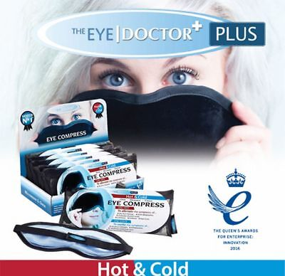 The Eye Doctor Plus Hot and Cold Therapy for Blepharitis - Eye Mask