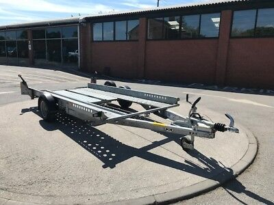Used Ifor Williams CT115 Car transporter - December 2016