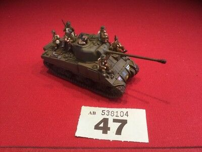 Plastic Soldier Company Sherman Firefly And Tank Riders 7th Armoured Lot 47