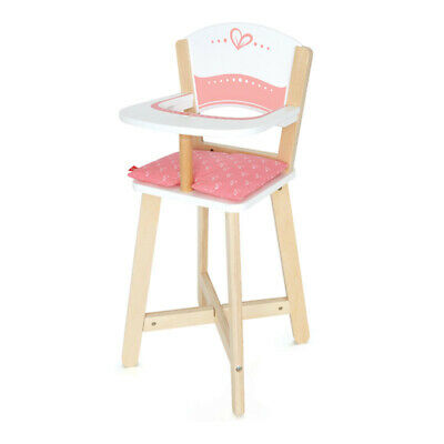 Hape Baby Highchair Pretend Play Kids Fun Wooden Toy Seat - Ages 3Yrs+ **New**