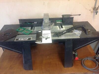 Trend Mk 2 Router Table + Trend uni-base