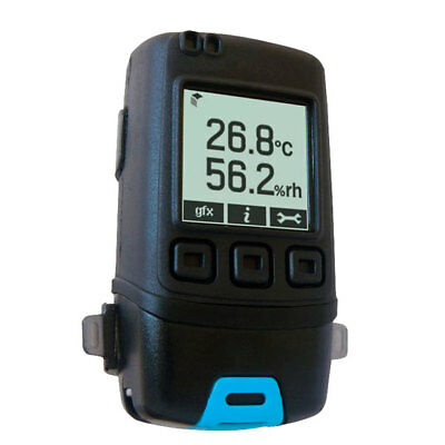 Lascar EL-GFX-2 Temperature & Humidity Data Logger with Graphic LCD Display