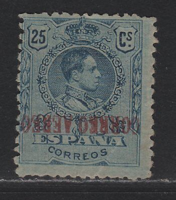 Spain C3a Inverted Overprint VG+ Crease