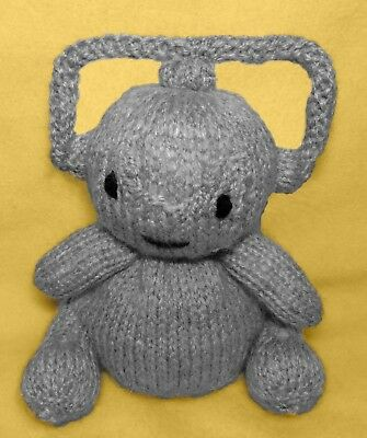Sir Jorgen inspired choc orange cover KNITTING PATTERN 13cms Frozen Elsa Toy