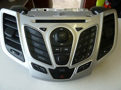 Ford Fiesta Mk7 Mk8 Radio Cd Player Stereo And Screen Aa6t 18c815 Gc