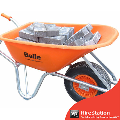 Genuine Belle Warrior Wheel Barrow c/w Flex Pro Tyre